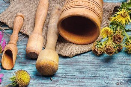 herb pounding tools